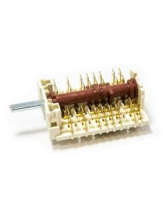 HANSA elektroplīts režīmu pārslēdzējs 11HE242 10-poz., 8061791 analogs