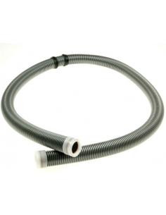 Vacuum Cleaner Hose 1.8m d32mm - 44mm, silver grey