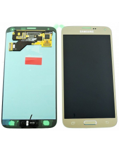 SAMSUNG GALAXY S5 NEO G903F LCD Display Module, Gold, GH97-17787B