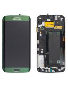SAMSUNG GALAXY S6 EDGE G925F LCD Display Module, Green, GH97-17162E