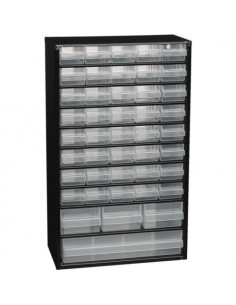 Compartment Cabinet with Drawers 510x306x150mm 40+3+1, RAACO 132114