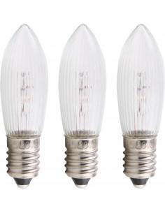 Lamp (Bulb) E10 23V 3W, set...