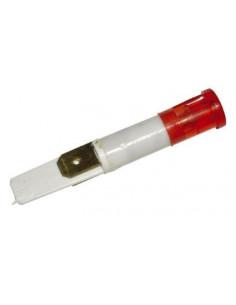 Incandescent Indicator Red 230V Ø9mm