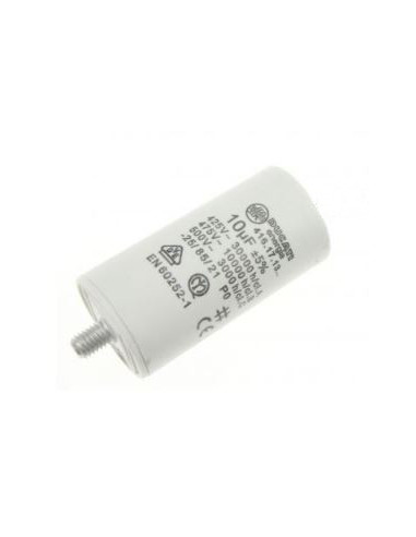 10uF / 450V, Motor starting capacitor with cable 250mm, Ducati 416171314