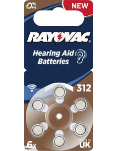 VARTA / RAYOVAC EXTRA V312...