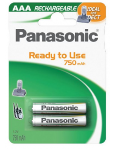 PANASONIC AAA R3 750MAH...
