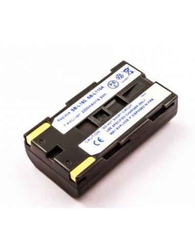 SAMSUNG SB-L110A,  SB-L160 akumulators 7.4V 2200mAh Li-Ion, CAMCA74004, alternatīva