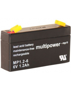 Lead acid battery 6V 1.2Ah,...