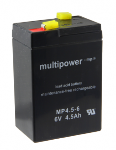 Lead Acid Battery 6V 4.5Ah MULTIPOWER MP4.5-6