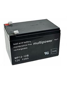 Lead Acid Battery MULTIPOWER 12V 12Ah, MP12-12B