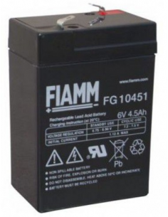 FIAMM 6V 4.5AH Lead Acid...