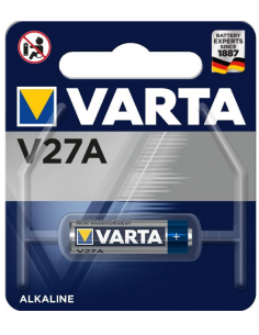 VARTA V27A Alkaline Battery 27A 12V