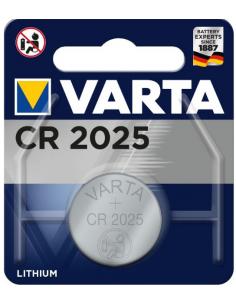 VARTA CR2025 Lithium Battery  3.0V 170mAh, 6025101401