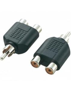 Adapter RCA Plug - 2xRCA...