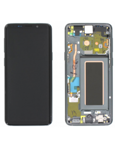 SAMSUNG GALAXY S9 G960F LCD Display Module, Titanum Gray, GH97-21696C