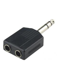Adapter 6.35 mm plug stereo...