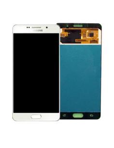 SAMSUNG GALAXY A7 A710F 2016 LCD Display Module, White, GH97-18229C