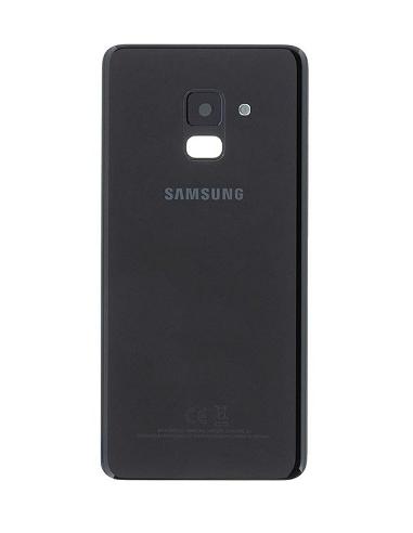 SAMSUNG GALAXY A8 A530F 2018 Battery Cover, Black, GH82-15551A
