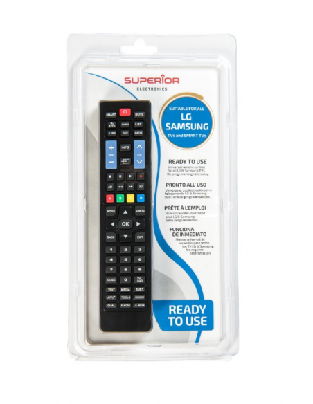 Combined LG & SAMSUNG Smart TV Remote Control SUPERIOR SUP032