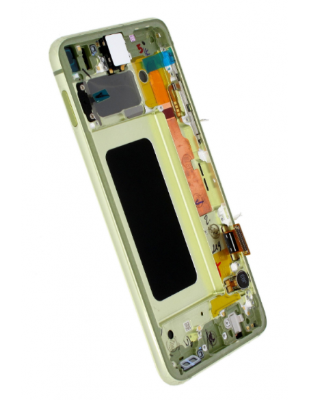 SAMSUNG GALAXY S10E G970F LCD Display Module, Canary Yellow, GH82-18852G