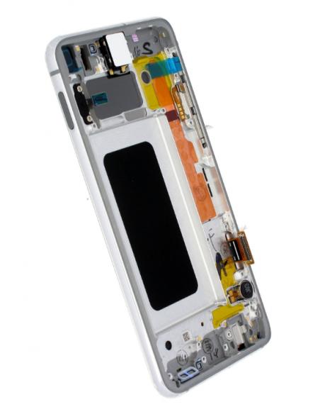 SAMSUNG GALAXY S10E G970F LCD Display Module, White, GH82-18852B