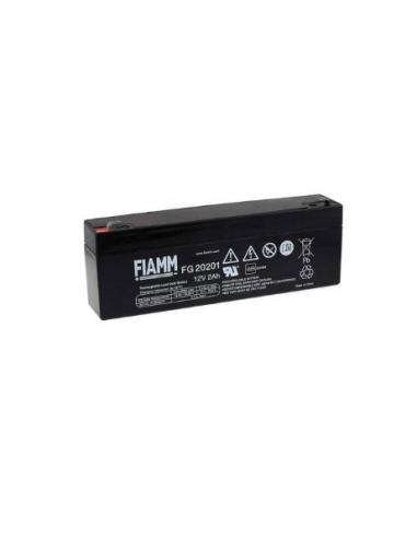 FIAMM FG20201 12V 2Ah Lead Acid Battery