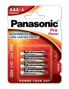 PANASONIC Alkaline Battery AAA LR03 4pcs, LR03PPG/4BP