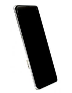 SAMSUNG GALAXY S10 G973 LCD экран с тачскрином и стеклом, белый, GH82-18850B