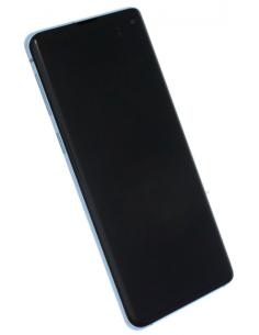 SAMSUNG GALAXY S10 G973 LCD Displejs ar skārienekrānu, zils, GH82-18850C