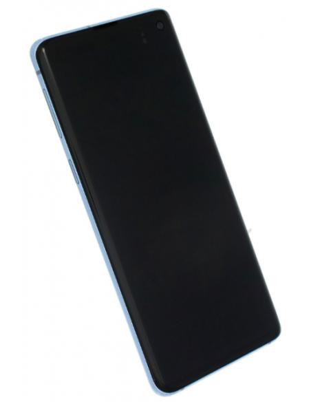 SAMSUNG GALAXY S10 G973 LCD Display Module, Prism Blue, GH82-18850B