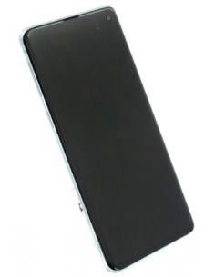 SAMSUNG GALAXY S10 G973 LCD Display Module, Prism Green, GH82-18850E