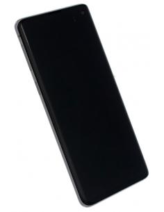 SAMSUNG GALAXY S10 G973 LCD displejs ar skārienekrānu, melns, GH82-18850A