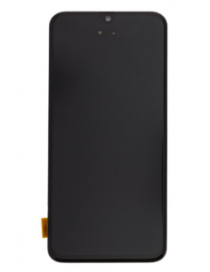SAMSUNG GALAXY A40 A405F LCD displejs ar skārienekrānu, melns, GH82-19672A