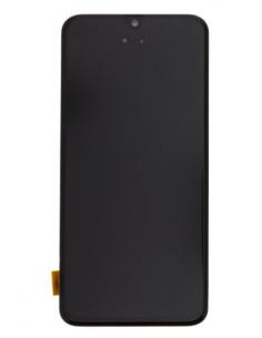SAMSUNG GALAXY A40 A405F LCD экран с тачскрином и стеклом, черный, GH82-19672A