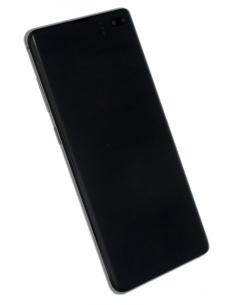 SAMSUNG GALAXY S10+ G975 LCD displejs ar skārienekrānu, melns, GH82-18849A