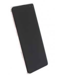 SAMSUNG GALAXY S10+ G975 LCD displejs ar skārienekrānu, balts, GH82-18849J