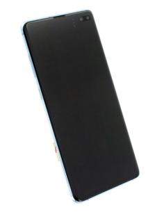 SAMSUNG GALAXY S10+ G975 LCD экран с тачскрином и стеклом, синий, GH82-18849C