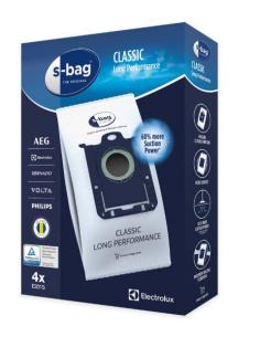 Vacuum Cleaner Bag S-BAG E201S 4 pcs ELECTROLUX, 9001684589