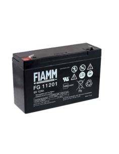 Lead Acid Battery 6V 12Ah FIAMM FG11201