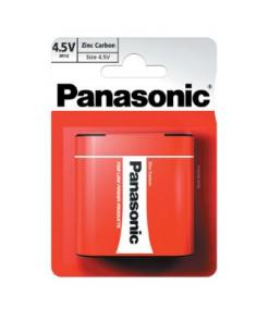 PANASONIC Zinc-Carbon Battery 3R12 4.5V, 3R12RZ/1BP