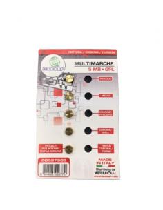 Universal Propane & Butane Gas Injectors GPL, 5 pcs set, M5