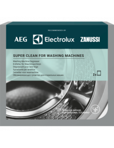 Super Clean for Washing Machines ELECTROLUX M3GCP200, 2 sachets, 9029799310