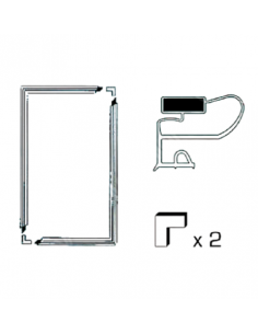 Universal Fridge Magnetic Door Seal Kit 200x100 cm