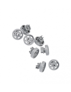 Dishwasher Lower Basket Wheel Kit Pack of 8 AEG ELECTROLUX, 4071300307