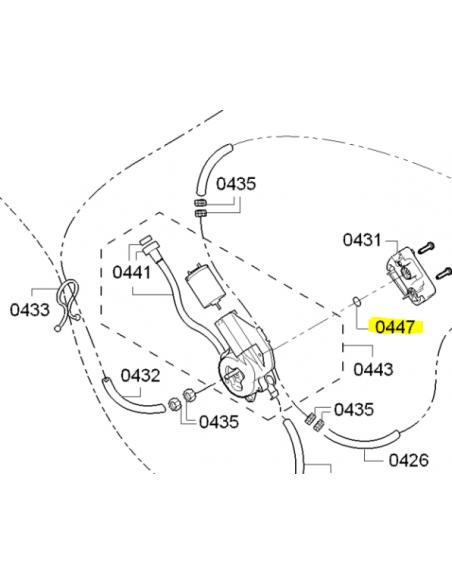O-ring Seal for Ceramic Valve 9.5x6.5x1.5mm BOSCH SIEMENS, 00633878