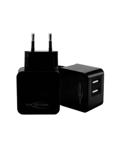 Ultra Fast USB Dual Charger 3.1A 15.5W ANSMANN, 1001-0067-1