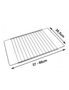 Universāla cepeškrāsns grila reste 37 - 66 x 30.5cm