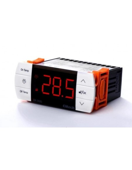 Universal Electronic Thermostat -40 ℃ + 85 ℃ 230VAC 10A