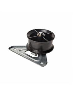 Tumble Dryer Jockey Wheel And Bracket INDESIT, HOTPOINT ARISTON, WHIRLPOOL, C00504520