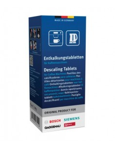 Descaling Tablets for Coffee Machines, Kettles & Hot Water Dispensers 6 pcs. BOSCH SIEMENS, 00311864